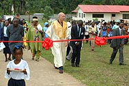 The official opening of Juah Town took place just one year ago - Photo: A. Gabriel