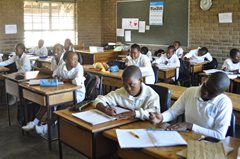 SOS Children's Villages runs a school in Maseru (photo: SOS archives).
