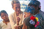At the SOS Transit Home in Colón - Photo: SOS Archives