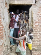 Former child soldiers SOS Children's Villages has reunified with their families - Photo: SOS Archives