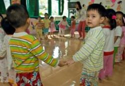 The SOS Kindergarten provides children with a good start in life (photo: B. Neeleman)