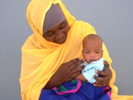 SOS mother from Ndjamena, Chad - Photo: C. Ngo Biyack