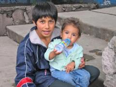 Siblings at the SOS Children's Village Mexico (photo: F. Kemps)