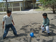 Osman loves to play at the SOS Social Centre (Photo: Jazmina Ramírez)