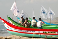 New boats for fishermen from Chinnakalapet (India) - Photo: D. Sansoni