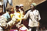 People from a slum in Nairobi - Photo: H. Atkins