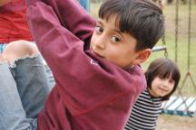 Boy at the playground - Photo: Katerina Ilievska