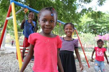 Children growing up in the care of SOS Children's Villages Santo (photo: SOS archive)