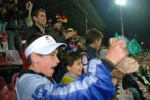 Enthusiastic fans from the Romanian SOS Children's Villages - Photo: K. Ilievska