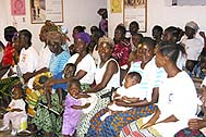 At the SOS Emergency Clinic in Monrovia - Photo: SOS Archives