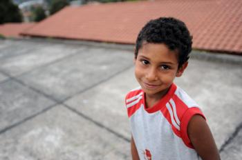 Children without parental care are looked after in SOS families in Rionegro (photo: B. Mair)