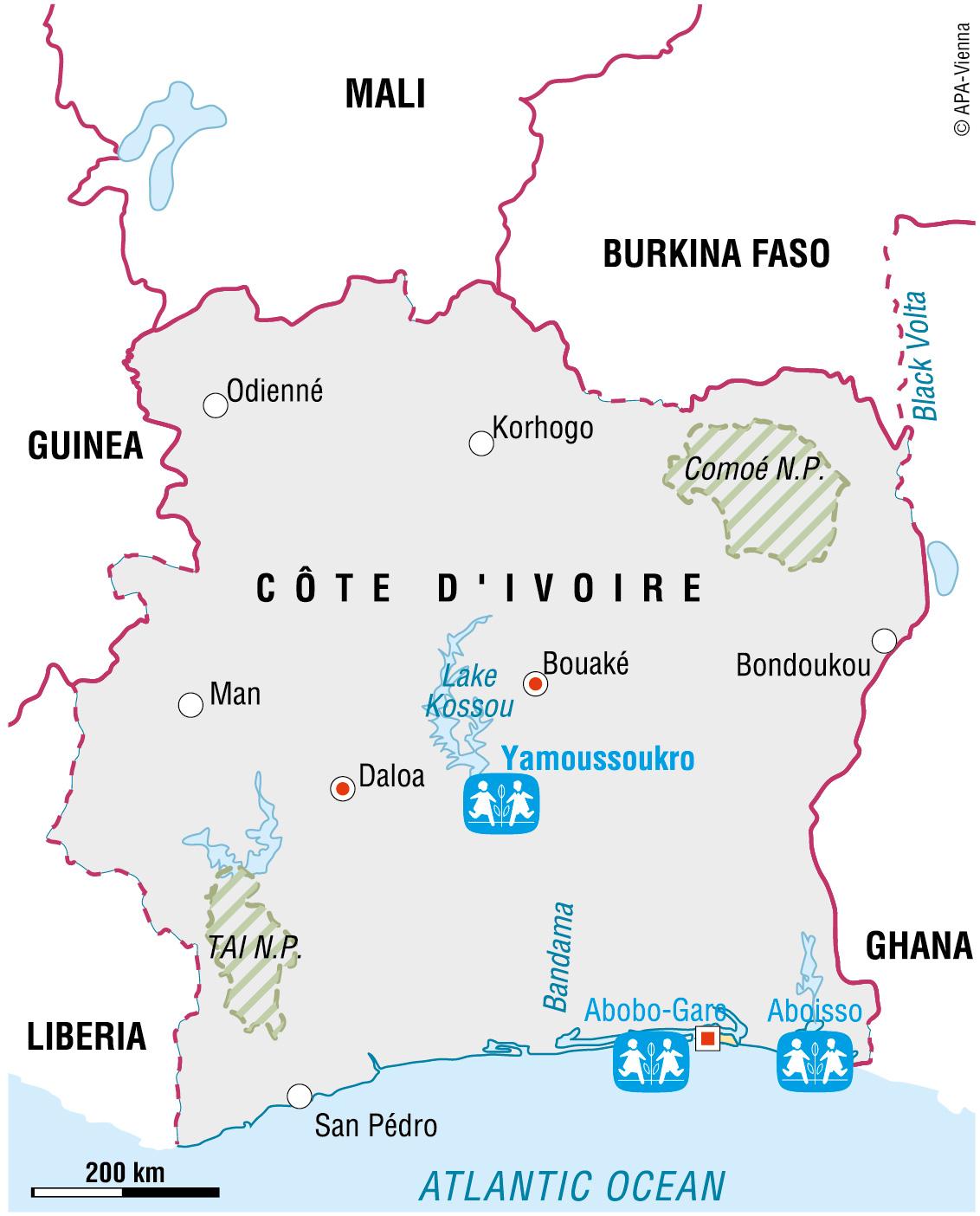 General information on Cte dIvoire
