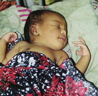 More than 3,000 babies are born in the maternity ward each year - Photo: H. Atkins
