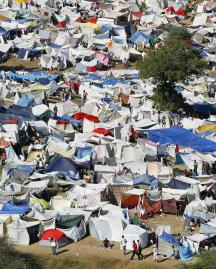 Thousands of people need help urgently - REUTERS/Hans Deryk - courtesy www.alertnet.org