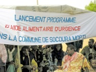Kick-off for the emergency relief programme in Mali - Photo: SOS Archives