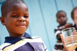Every child has the right to clearn water