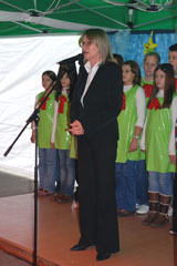 Ms Liljana Lucic at the opening ceremony - Photo: K. Ilievska