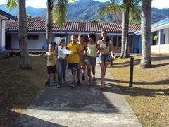 At the children's village (photo: SOS archivesl)