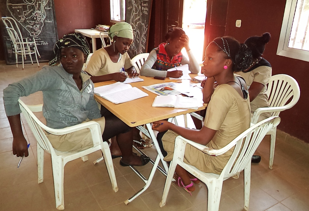 SOS Children's Villages gives young people all the support they need, both at school and at home (photo: SOS archives).