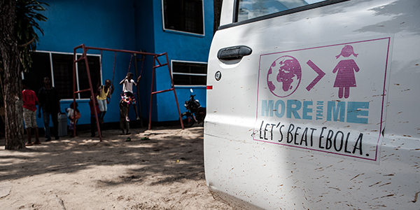 Interim care centre in Monrovia, Liberia