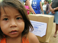 Children are in the centre of the SOS emergency aid in Bolivia - Photo: F. Espinoza