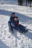 Children from SOS Children's Village Sarajevo enjoying winter time - Photo: S. Baljo