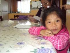 Little girl in her SOS home (photo: B. Sulecio)