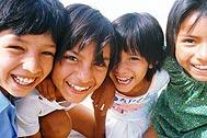 Children from SOS Children's Village Tarija in Bolivia - Photo: SOS Archives