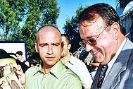Dr. Michael Gschliesser together with Eros Ramazotti - Photo: T. Stankiewicz