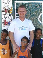 Sönke Wortmann is prominent SOS sponsor for Brazil - Photo: SOS Archives