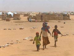 Oure Cassoni refugee camp: Living in no man's land - Photo: Y. van den Broek