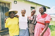 Mothers who are being helped at the SOS Social Centre in Qwa Qwa, South Africa - Photo: B. Strandell