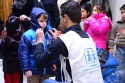 SOS Children's Villages has opened the first official child-friendly space in Damascus
