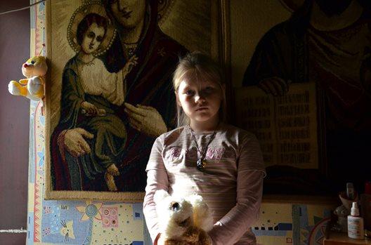 Ukrainian girl. Photo: Marko Magi