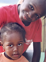 At home at SOS Children's Villages on the Cape Verde - Photo: S. Molitor