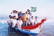 This boat secures the sustenance of several families - Photo: SOS Archives