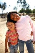 Good friends at the SOS Children's Village (photo: I. Hidalgo)