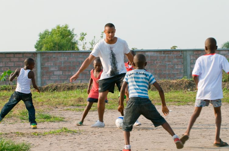 Vincent Kompany in Congo