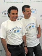 Dunga and Sanchez during their visit to Ammersee - Photo: H. Linnehan
