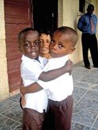 Two boys from SOS Children's Village Bata - Photo: C.F. Ngo-Biyack