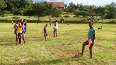 Children at the SOS Children's Villages school in Vontovorona (photo: SOS archives).