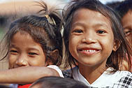Girls from SOS Children's Village Pnomh Penh - Photo: D. Sansoni