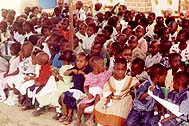At the SOS Kindergarten in Ziguinchor - Photo: SOS Archives